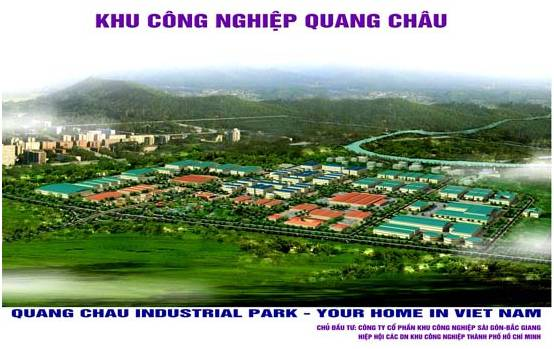 Factory for Rent in Quang Chau industrial park, Bac Giang