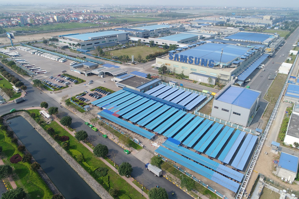 Ready-built Factory in Yen Phong District, Bac Ninh Province For Lease